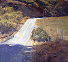 "Tomales Highway - Oil on canvas 24"" x 24"""