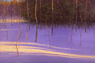 "Evening at Kolapore - Oil on canvas 48"" x 60"""
