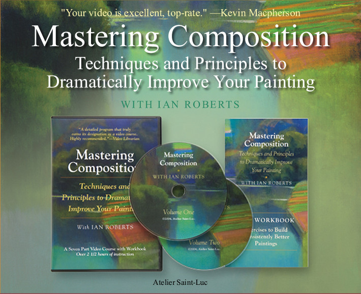 Mastering Composition - Techniques and Principles to Dramatically Improve Your Painting - video cover