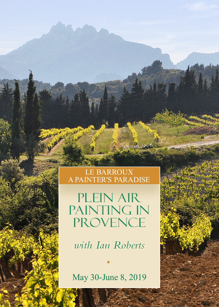 Plein Air Painting in Provence | September 16-25, 2018